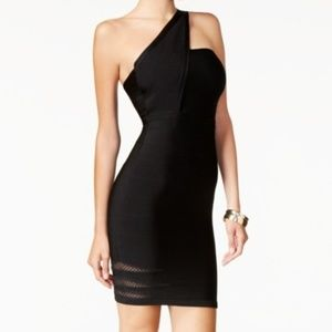 NWT Guess Jaclyn One Shoulder Body-con Mini Dress